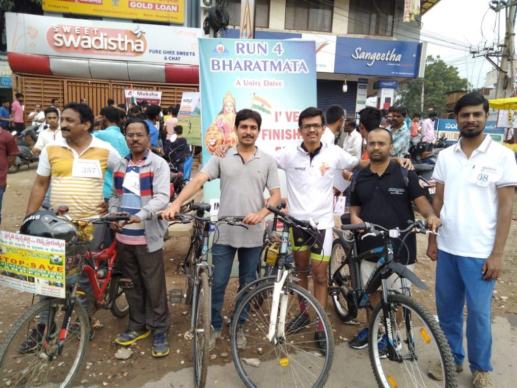 Kreeda Bharathi organised Run4BharatMata in Hyderabad - VSK